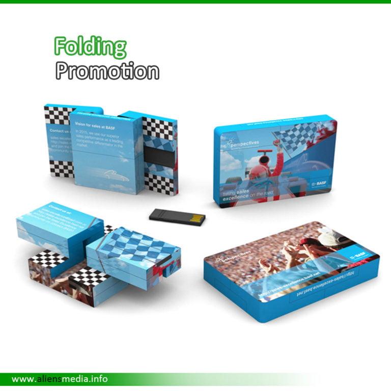 Folding Credit Card