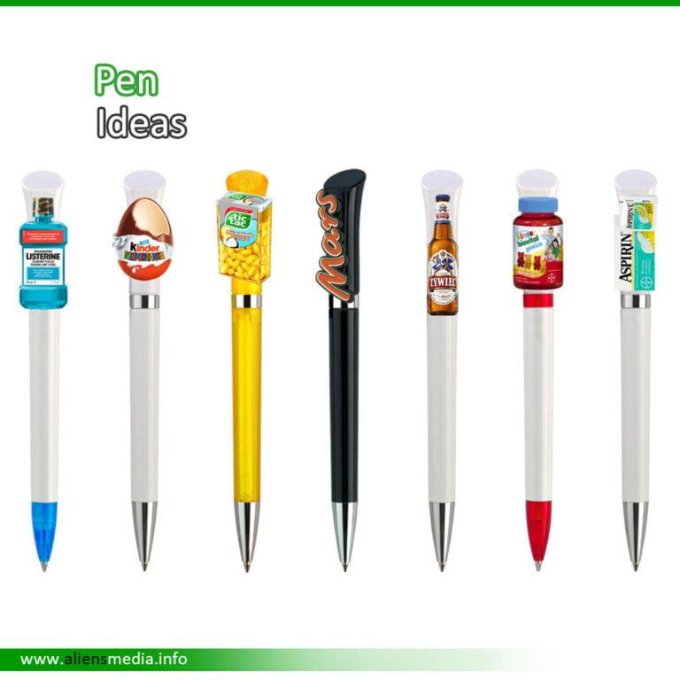 Clip Pen Idea