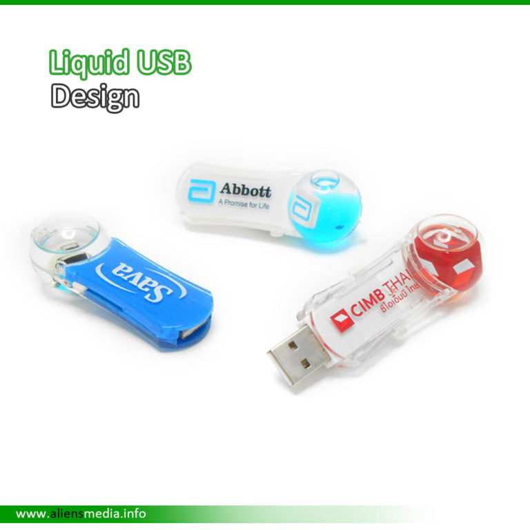 Liquid USB Design
