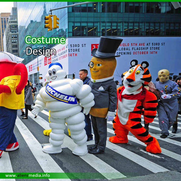 Mascot Costume Design