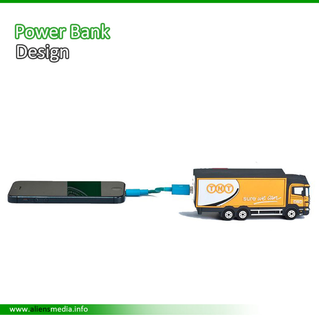 Power Bank Charger with Custom Design