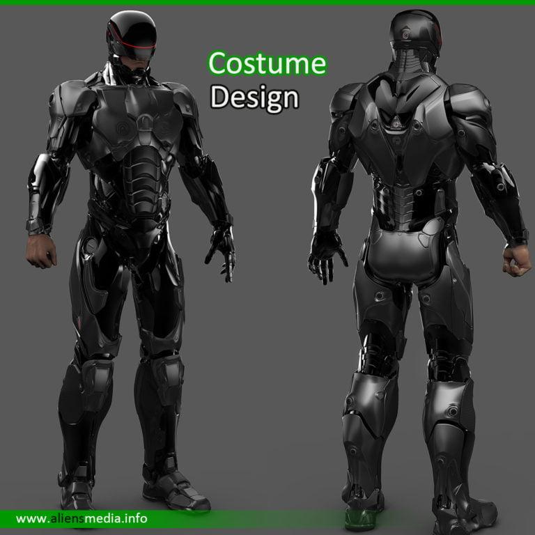 Robot Costume Design