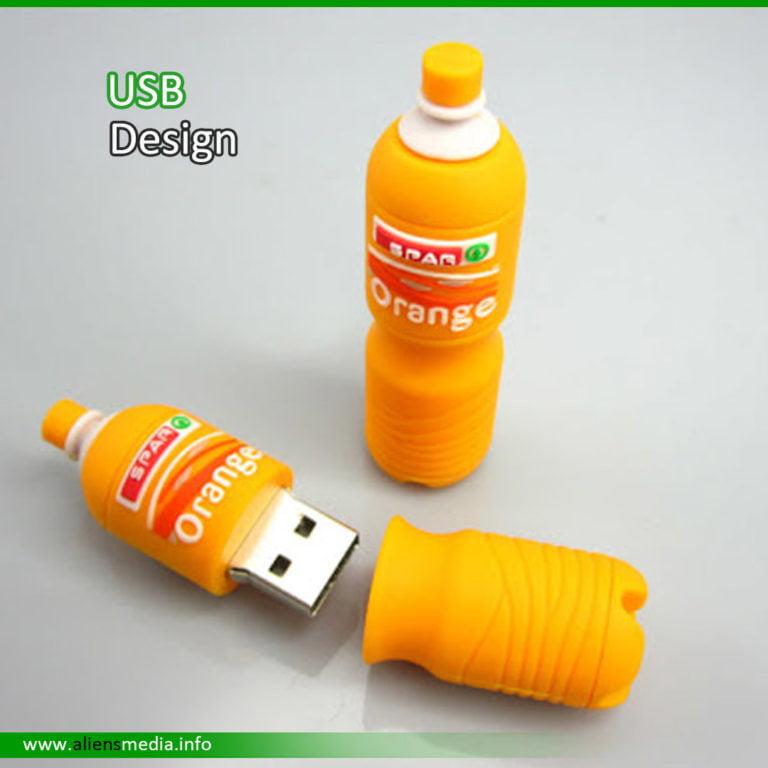 Rubber USB Shape