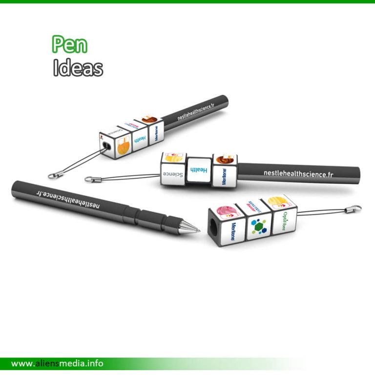 Rubik Pen Idea