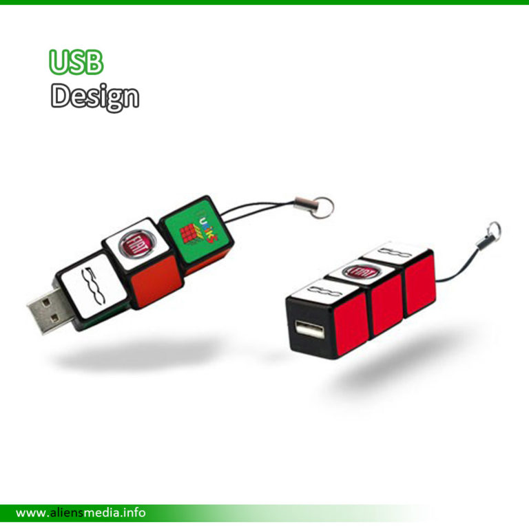 USB Design with Logo