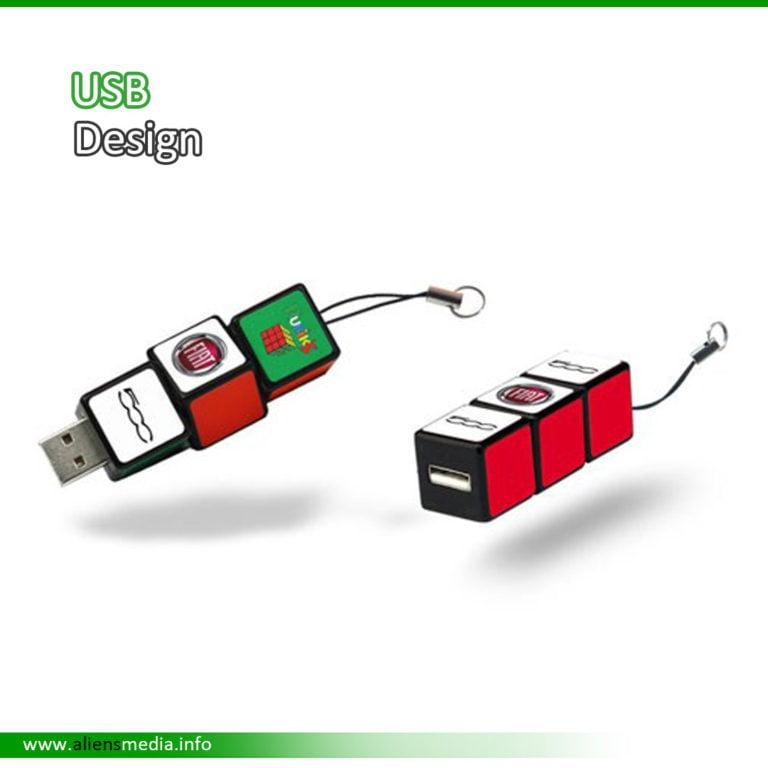 USB Design with Logo